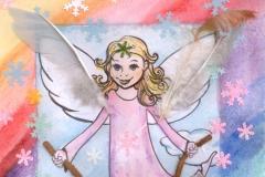 Barevný angel