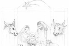 Betlém náčrt