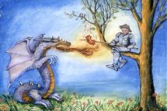 l. Jiří a drak